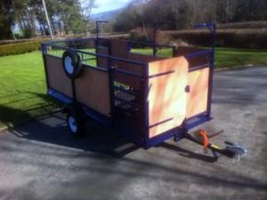 shearing trailer